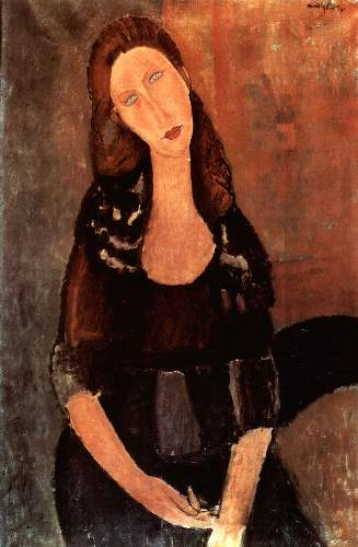 Modigliani - Portrait of Jeanne Hebuterne [3]
